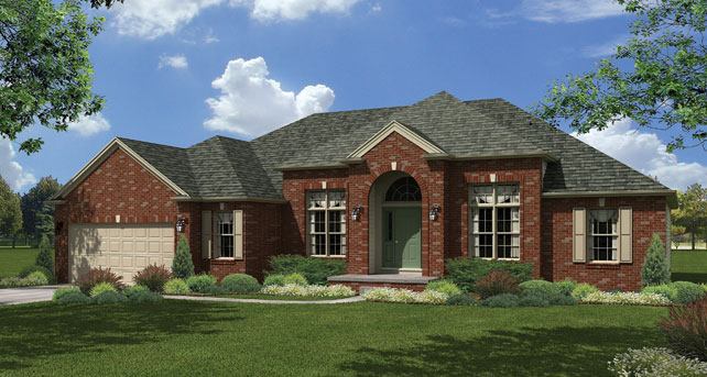 Custom luxury ranch home plans for Custom ranch home plans