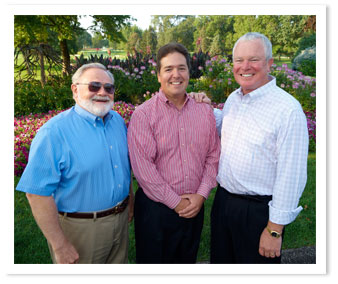 Wayne Homes Exexcutive Team (left to right) Bill Post, COO; George Murphy, President; Dave Logsdon, CEO